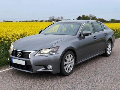 begagnad Lexus GS300h Hybrid lågmil premium nav