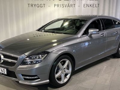begagnad Mercedes CLS350 Shooting Brake CDI 4Matic AMG SB Sv-Såld