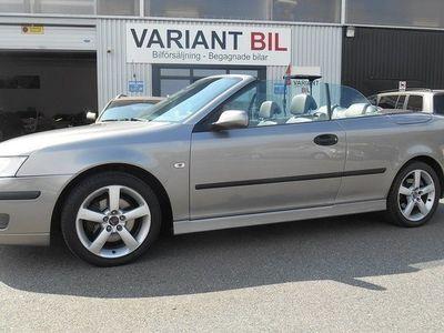begagnad Saab 9-3 Cabriolet 1.9 TiD Vector 2006, Cab 67 900 kr