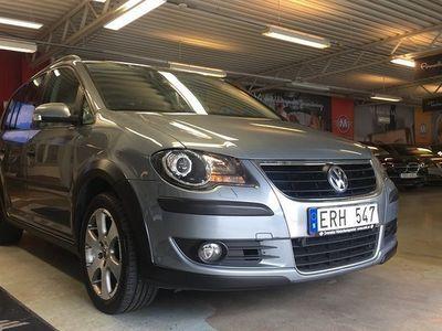 begagnad VW Touran Cross 2.0 TDI DSG Sekventie -08