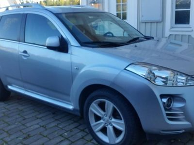 begagnad Peugeot 4007 2,2 Hdi 7-sits -07