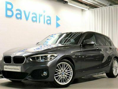 begagnad BMW 118 i 5-dr M-Sport Läder Navigation Automat Tonade Rutor