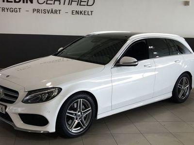 begagnad Mercedes 220 C-KLASSd kombi SE edition VÄRMARE/DRAG