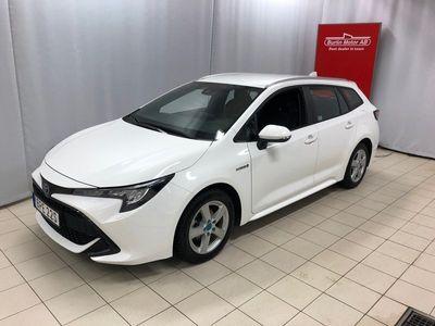 begagnad Toyota Corolla Touring Sports Hybrid 1,8 HSD Active Motorvärmare o kupeuttag,Vinterhjul Alu