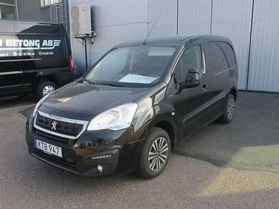 begagnad Peugeot Partner L1 100hk Drag Inredning