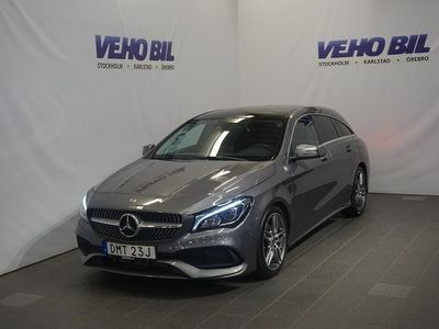 begagnad Mercedes CLA180 Shooting Brake AUT AMG SKY APPLE CARPLAY