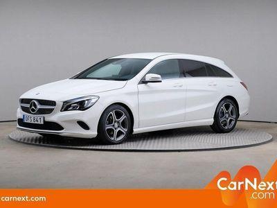 begagnad Mercedes CLA220 Shooting Brake d Drag, Se Edition
