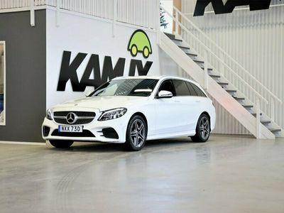 begagnad Mercedes C200 T d AMG D-värm Navi S&V-Hjul 160hk