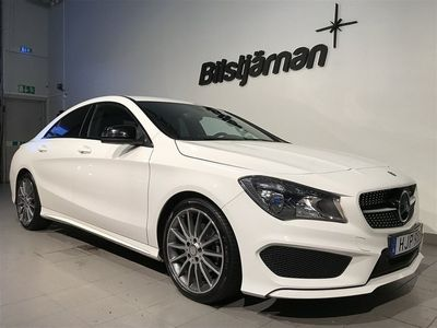 begagnad Mercedes CLA200 Euro 6 156hk
