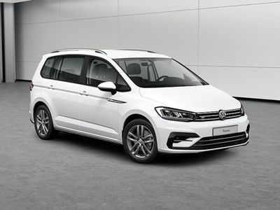 begagnad VW Touran TSI 150Hk DSG R-Line Drag Värmare 7 sits