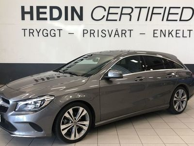 begagnad Mercedes CLA220 D, SB, 7G, Navi, Drag, -18