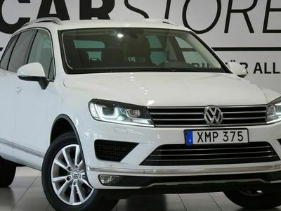 begagnad VW Touareg 3.0 V6 TDI SCR 4M Värmare Skinn