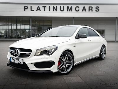 begagnad Mercedes CLA45 AMG 45 AMG 360hk 4M Exclusive / Panorama