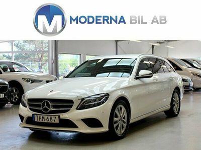 begagnad Mercedes C200 T D EU6/NAVI/DRAG/D-VÄRM/MOMS/150hk