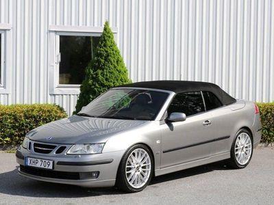 brugt Saab 9-3 Cabriolet 2,0T 210hk