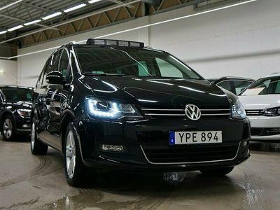 begagnad VW Sharan TDI Premium 7-sits Panorama Värmare Drag150hk
