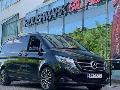 begagnad Mercedes V250 V BenzExclusive AMG Eu6 D-Värm Pano Burmester 2017, Personbil Pris 429 800 kr