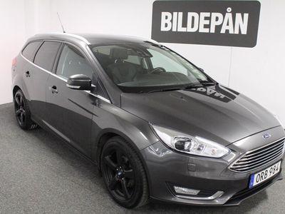 begagnad Ford Focus 1.0 125 Titanium X A Kombi 2016, Kombi 159 000 kr