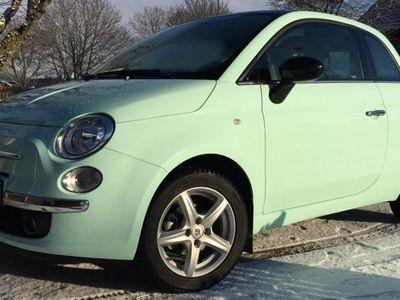 begagnad Fiat 500 Cult pistachio green -14