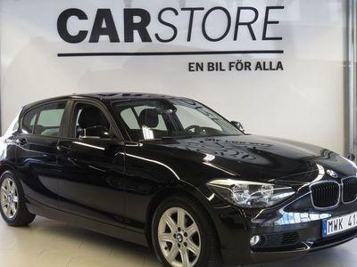 begagnad BMW 120 d Aut Lågmil Sportstol