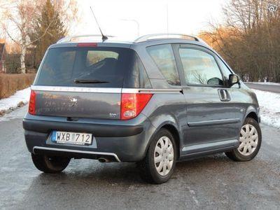begagnad Peugeot 1007 1,6 / Automat / 2600 Mil -05