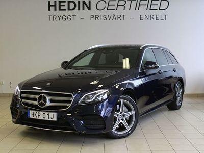 begagnad Mercedes 220 - Benz E - Klassd 4 - Matic AMG, Adaptiv farthållare, Värmare, Drag
