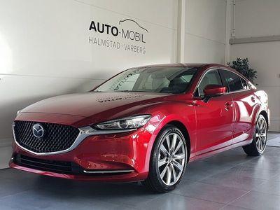 begagnad Mazda 6 Aut 2.5 Optimum 194 hk Off-white skinn