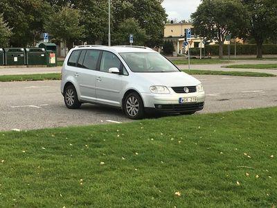 begagnad VW Touran 2.0 tdi 7 sits