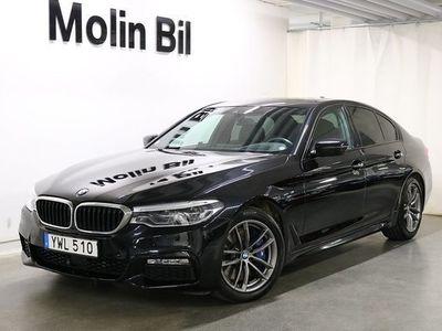 begagnad BMW 540 d xDrive Sedan M-Sport Navigation Drag 2018, Sedan Pris 498 600 kr