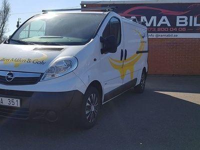 begagnad Opel Vivaro Van 2.0 dCi 115hk, Ny Besiktigad, -08