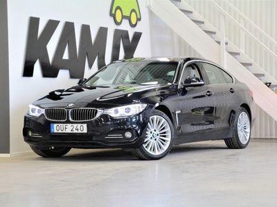 begagnad BMW 420 D X-Drive Aut Luxury line Navi