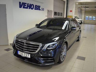 usata Mercedes 400 S-KLASS4Matic Lång, AMG Line, Premiumpaket Plus