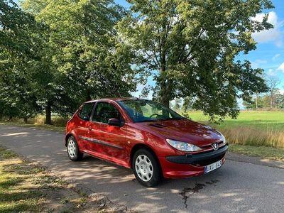 begagnad Peugeot 206 3-dörrar 1.4 X-Line 75hk