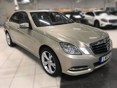 begagnad Mercedes 350 E-KLASSCDi 231hk, 4Matic, Avantgarde, Dieselvärmare, Sedan, SoV-hjul