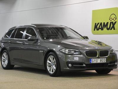 begagnad BMW 520 d Aut Panorama Skinn Drag (184hk)