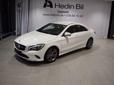 begagnad Mercedes CLA200 D 4MATIC COUPÉ Parkeringsvärmare Backkamera Apple-Carplay
