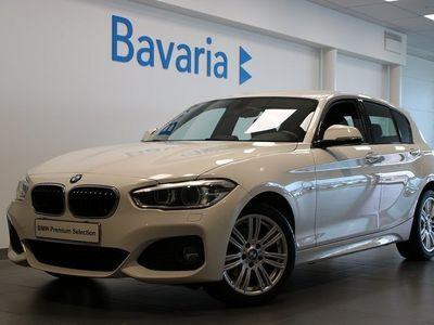 begagnad BMW 118 d xDrive 5-d M-Sport Farthållare