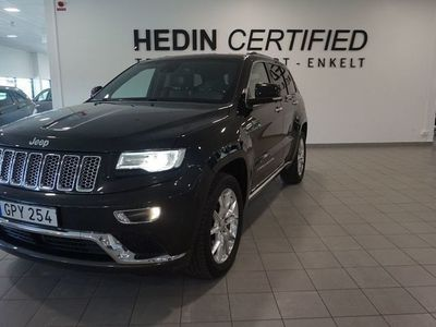 used Jeep Grand Cherokee 3.0 V6 CRD 4WD Aut, 250hk, Summit