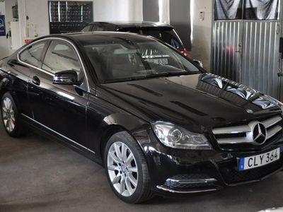 begagnad Mercedes C220 CDI Coupè -14