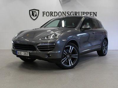 begagnad Porsche Cayenne Svensksåld, Nyservad 245hk