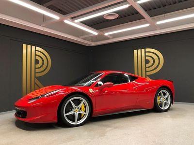 begagnad Ferrari 458 Italia (570hk) Handling Pack / Sv-såld