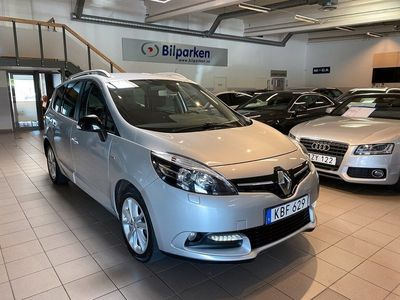 begagnad Renault Grand Scénic GRAND SCENIC1.5 dCi LIMITED 7-sits 2015, Kombi 99 900 kr