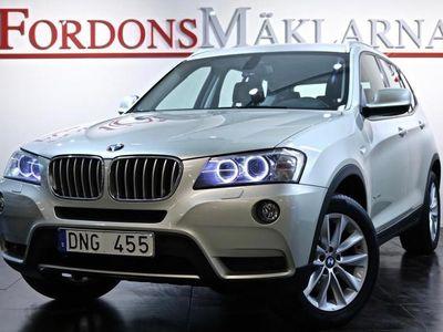 begagnad BMW X3 30D xDrive AUT GPS DRAG 3-ÅRS GARANTI