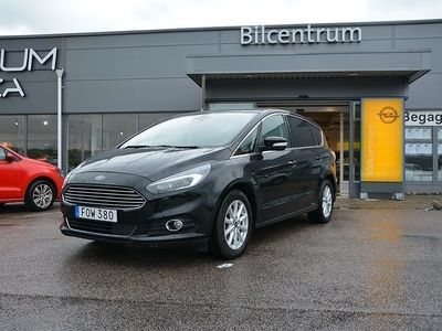 used Ford S-MAX 2.0 TDCi, AUT 7-sits, Drag, Nav, 180hk
