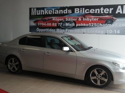 begagnad BMW 525 d Sedan Automat 177hk -05