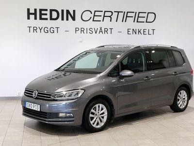 begagnad VW Touran 1.4 TSI 7-SITS,NAVI/BACKKAMERA 150hk, 2016