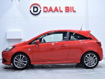 begagnad Opel Corsa 1.4 M-VÄRM P-SEN F&B FULLSERVAD RATTVÄRM E6 2015, Halvkombi 64 800 kr