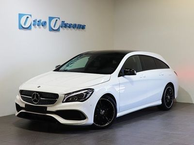 begagnad Mercedes CLA180 Shooting Brake AMG Aut, Drag, Panorama