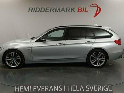 begagnad BMW 320 d Touring Steptronic Sport line 184hk|Hemleverans!