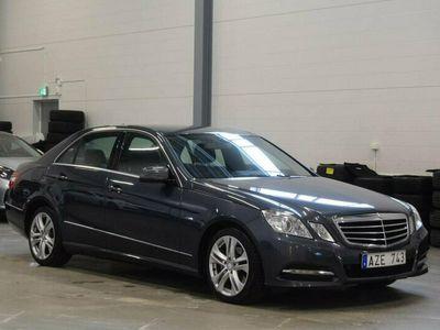begagnad Mercedes E220 CDI 170HK Aut Avantgarde Skinn Drag M&K